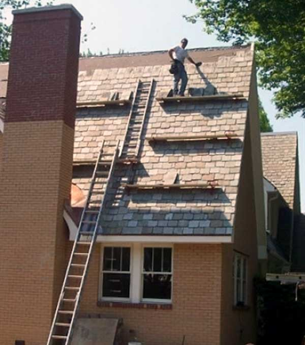 Basic Slate Roofing