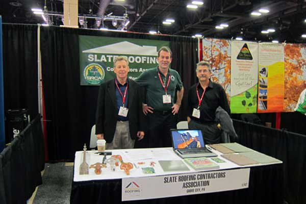 Slate Roofing Contractors Association at the IRE 2013