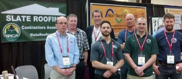 Slate Roofing Contractors at the International Roofing Expo 2014